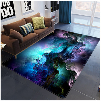 3D Galaxy Space Stars Carpets Living Room Decoration Bedroom Parlor Tea Table Area Rug Mat Soft Flannel Large Rug and Carpet цена 2017