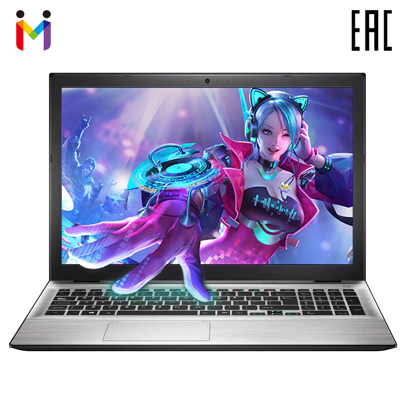 "Ultra-thin Laptop MAIBENBEN XIAOMAI5 15,6"" FHD/TN/4415U/8ГБ/240ГБ SSD (M.2)/GT 940MX-1G/DOS/серебристый"