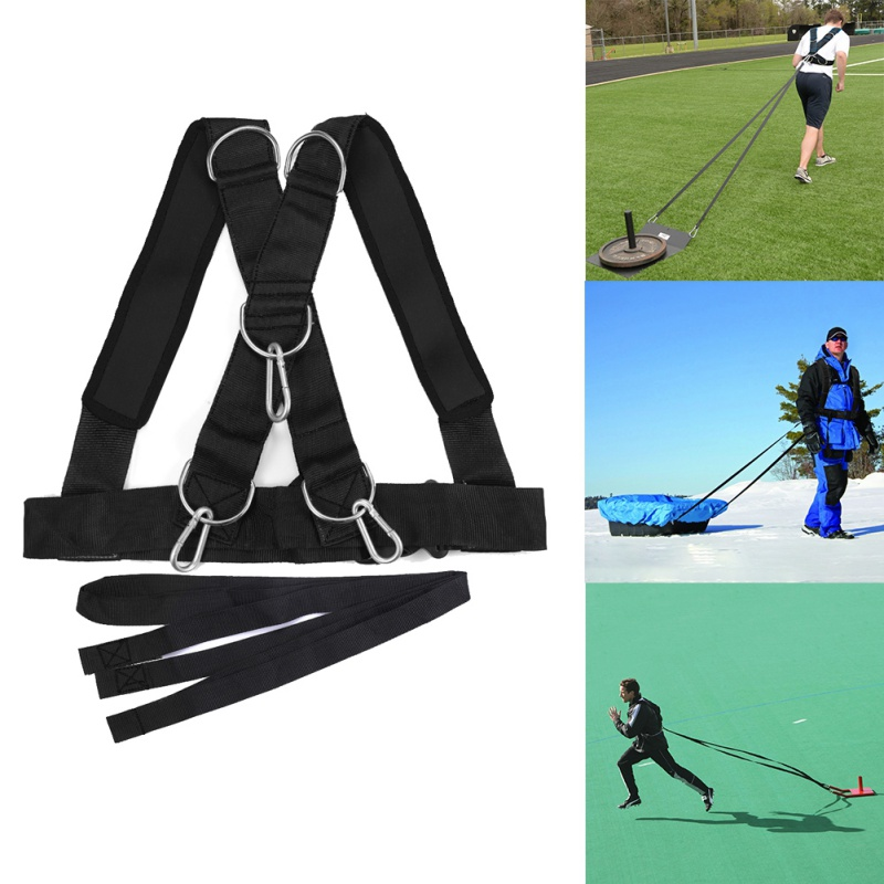 Weight-Training-Straps Harness Trainer Workout-Assistance Speed-Shoulder Sled Physical