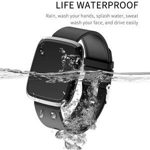 Image 4 - BINSSAW kadınlar akıllı saatler egzersiz kalp atışı takip cihazı IP67 su geçirmez spor akıllı bileklik erkekler renkli ekran Alarm bilezik