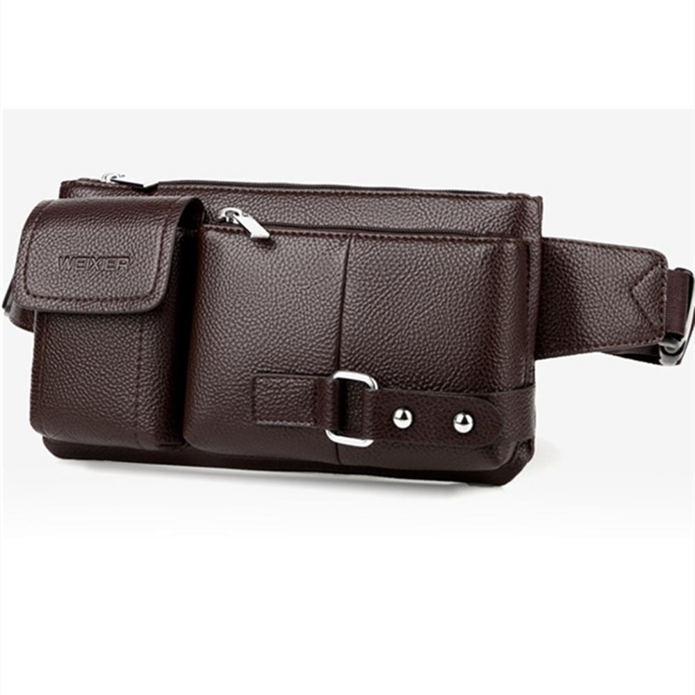 Male waist bag mobile phone bag shoulder bag waterproof bag anti-theft bag leisure bag business bag messenger bag