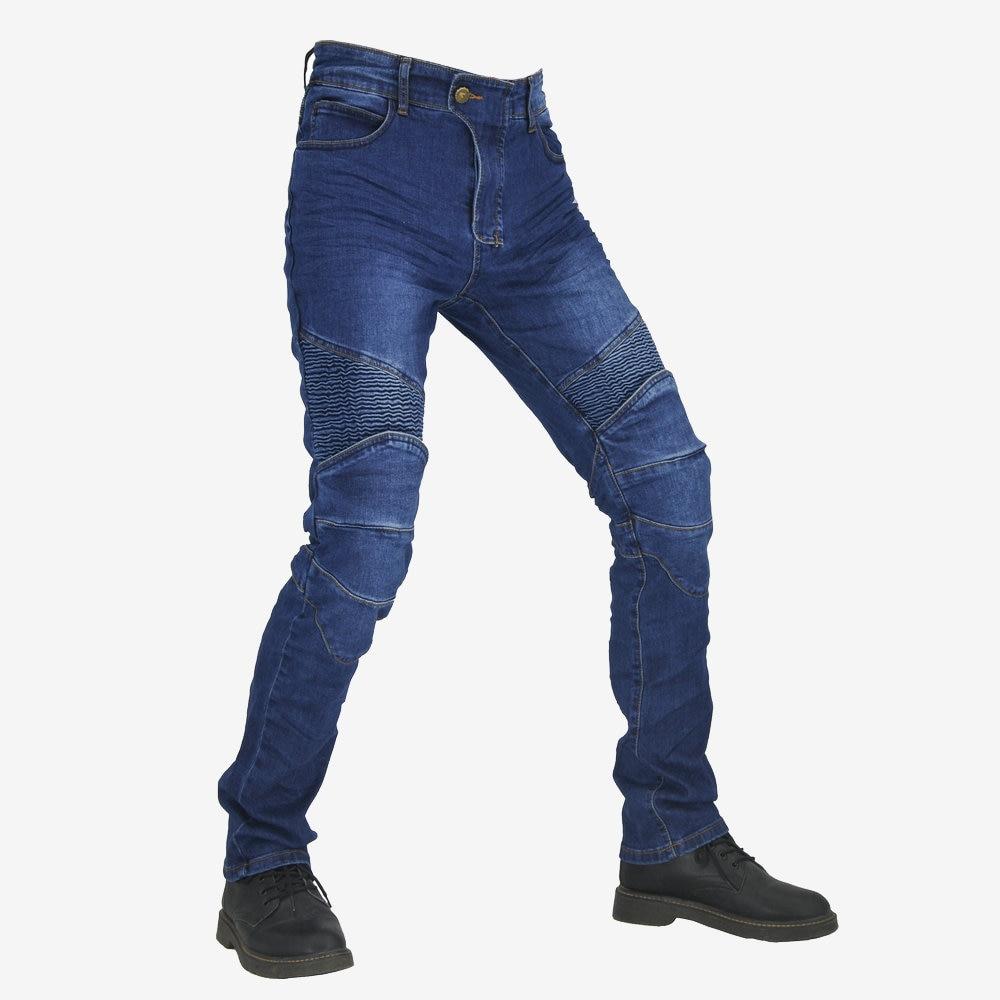 calças calças jeans motocicleta passeio jeans lazer