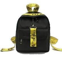 Waterproof Nylon Women Backpack Fashion Black Shoulder Back Bag Style Backpacks for Teenage Girls 24*13*30 cm zokol bearing 23230cak w33 spherical roller bearing 3153230hk self aligning roller bearing 150 270 96mm