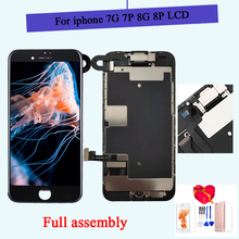 AAA Full set For iPhone 7 8 Plus 7 P 8 P LCD Display Touch Screen Digitizer Assembly Replacement Complete 100% tested front came 1 set quality usa complete skateboard deck 7 875 8 8 125 8 25 inch