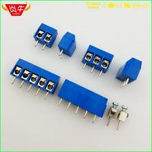 KF301 5.0 2P 3P PCB UNIVERSAL SCREW TERMINAL BLOCKS BLUE PLASTIC HEIGHT 10mm DG301 5.0mm PITCH 2PIN 3PIN PHOENIX DEGSON KEFA