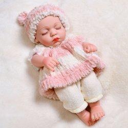 35cm Simulation bébé renaissance poupée de qualité alimentaire corps entier vinyle renaissance poupée renaissance poupée Simulation bébé jouet