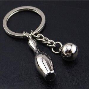 2020 nowy projekt Bowling metal brelok brelok do kluczyków do samochodu brelok sport Hot sprzedaż brelok wisiorek dla mężczyzny kobiety prezent hurtownie