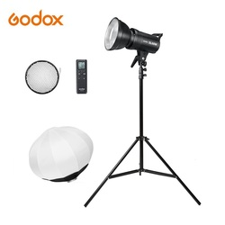 Godox LED Light SL-60W SL-100W SL-150W SL-200W 5600K Bowens Mount Video Light Continuous Light Kit with light stand softbox ball