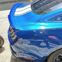 For Ford Mustang 2015 2016 2017 2018 Lip Spoiler ABS Plastic Primer Color Car Tail Wing Decoration Rear Trunk Spoiler