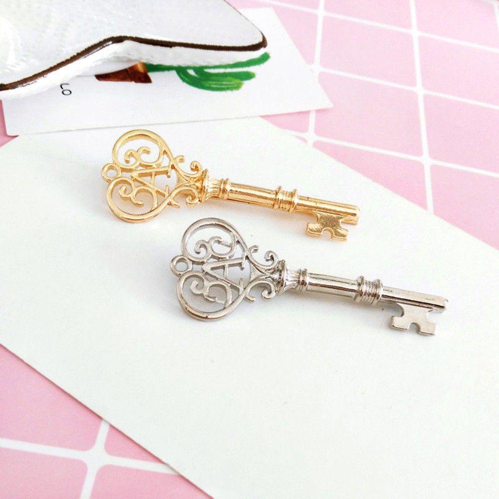 1pc Unique Retro Key Shaped Leaf Hairpin Hair Clip Stick Barrette Hair Accessories Headwear Hairpins Gifts Hair Accessories New