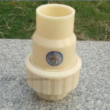 DN 15 / 20 / 25 / 32 / 40 / 50 engineering plastic ABS one way check valve water stop check valve hot sale