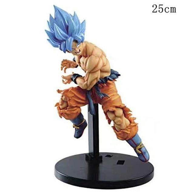 Dragon Ball Super Movie Broly TAG Fighters Goku Vegeta SSJ PVC action figure