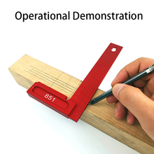200mm 90 Degree Right Angle Clamp Woodworking Holder Block Carpenter Tool Positioning Ruler Fixing L Type for Use