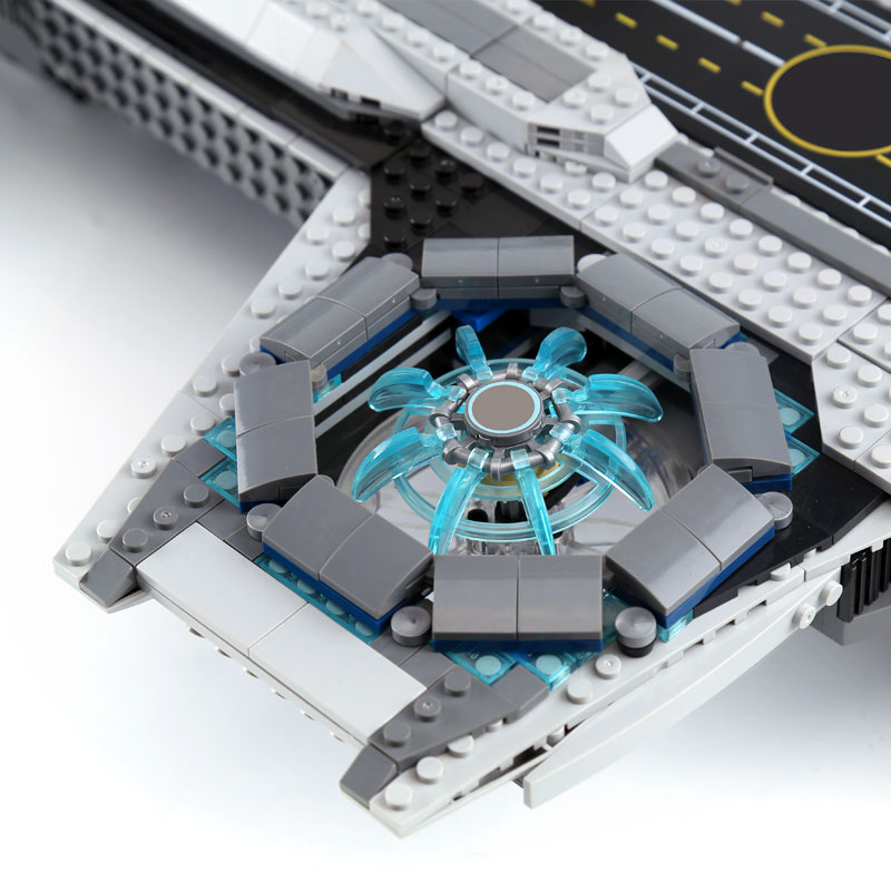 07043 87025 Super Heroes De Shield Helicarrier Model Set Gebouw Kinderen Bakstenen Blokken Speelgoed Legoinglys Star War Figuur 76042 - 4