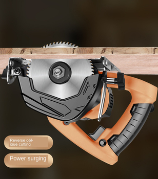 Electric Circular Saw For Woodworking Multi-function Cutting Machine Household Small Flip Saw Circular 110mm Blade