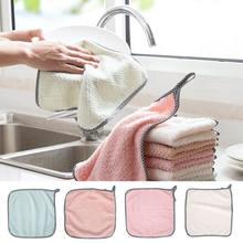 5 шт анти масляное полотенце для мытья посуды кухонные чистящие