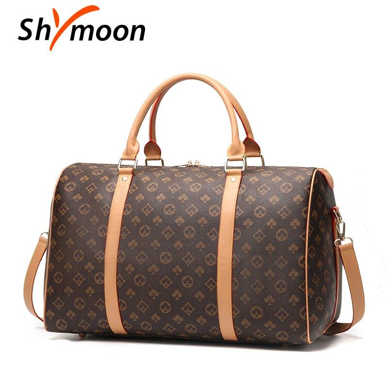 Homens sacos de viagem de luxo famosa marca designer grande capacidade de viagem totes bolsas de ombro das mulheres bagagem de mão mala duffle sacos