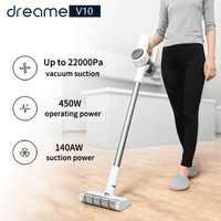 [PL Azione] Xiaomi Dreame V9 V10 Cordless Stick Vacuum Cleaner 22000Pa Aspirazione Anti-avvolgimento Capelli Acaro di pulizia Lungo Tempo di Esecuzione