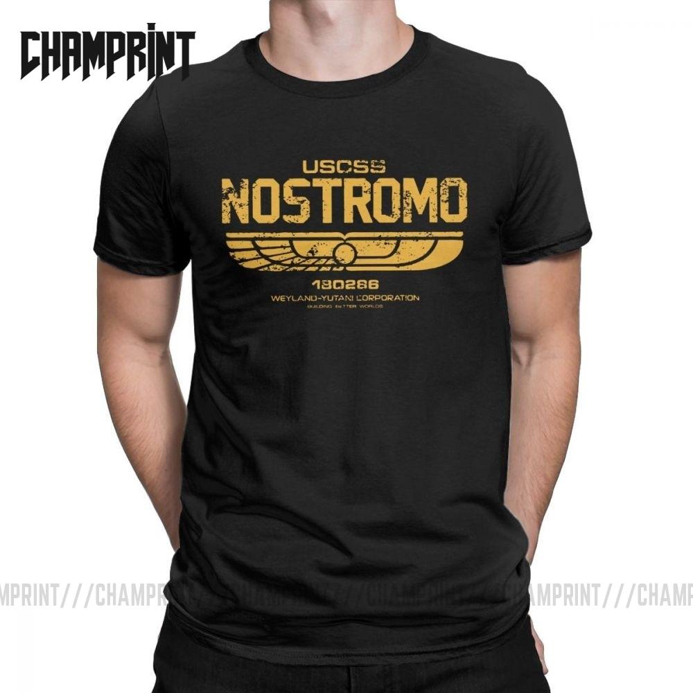 Alien Film /'NOSTROMO/' spaceship crew T-shirt ladies all sizes