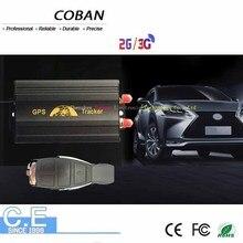 3G COBAN GPS103B GSM/GPRS/GPS Auto vehículo TK103B rastreador de coche dispositivo de seguimiento con Control remoto sistema de alarma antirrobo para coche