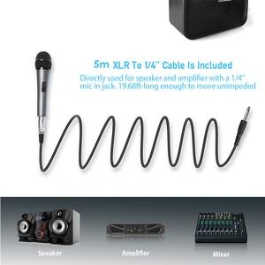 Image 5 - MAONO K04 Professionale Microfono Dinamico Cardioide Vocal Wired MICROFONO Con Cavo XLR Plug And Play Microfone per la Fase Karaoke KTV