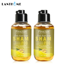 100ml Organische Natürliche Ingwer Haar Wachstum Shampoo Anti Haarausfall Behandlung Haar Care Oil Control Anti-schuppen Haar verlust Shampoo