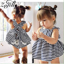 ZAFILLE Newborn Infant Baby Girl Clothes 2Pcs Skirt+Pant Girls Outfits Kids Clothes Toddler Baby Clothes Sleeveless Girls Suits(China)