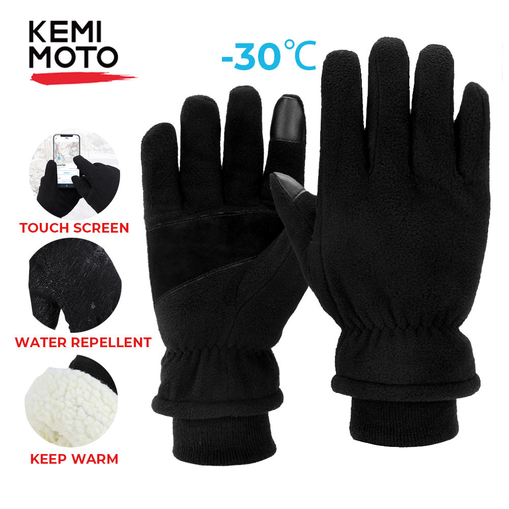 30℃ Touch Screen Windproof Waterproof Outdoor Sport Unisex Winter Warm Gloves