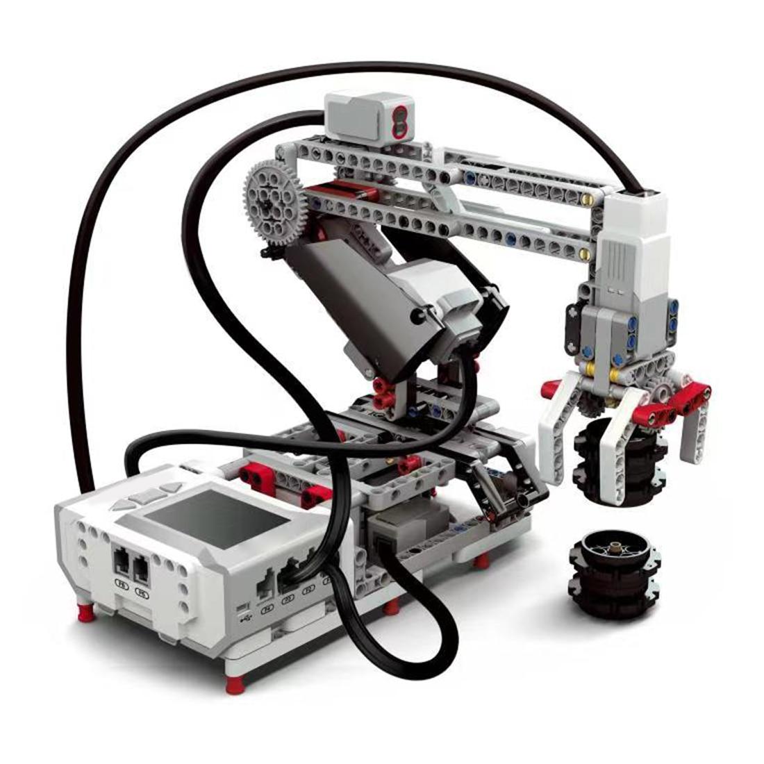 Programmable Building Block Assembly Robot Kit DIY Multifunctional Educational Learning Kit For Children Kids Educational Toys