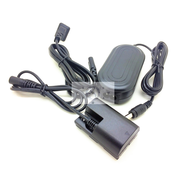 Camera AC Power Adapter + Dummy Battery for Canon R5 R6 7D 6D 5D Mark II III IV 5DS 7D 70D 60D replace ACK E6 LP E6 LP E6N DR E6