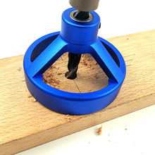 Newest Straight Angle Hole Drill Guide Bit Doweling Jig Woodworking Locator Tool