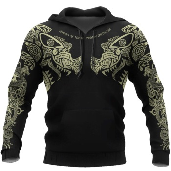 Viking Tattoo 3D Printed Men hoodie 1