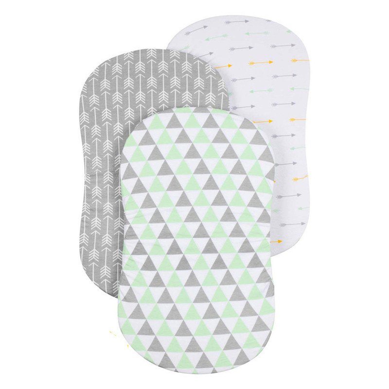 Baby mattress Soft Baby Bassinet Set Cradle Fitted Sheets for Mattress Pads Sleeper Cover matelas bebe #4D02 (24)