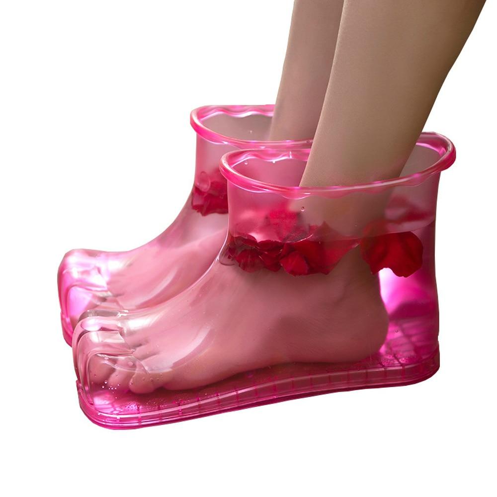 Łazienka męska i damska kąpiel stóp buty strona główna łazienka kreatywny dom masaż mycie stóp artefakt mycie stóp wanna