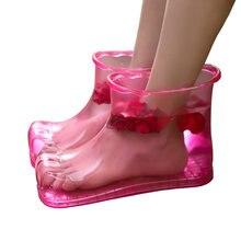 Banheiro masculino e feminino pé sapatos de banho casa banho casa banho casa criativa massagem pé lavar artefato pé banheira