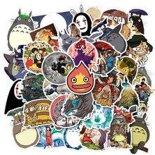 Paquet d'autocollants Totoro 10/50 pièces. Anime Pegatina pour les enfants sur l'ordinateur portable réfrigérateur téléphone planche à roulettes valise drôle Cool autocollant