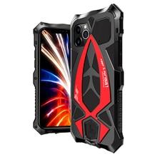 Funda protectora de aluminio y Metal para IPhone 11 Pro Max, funda protectora de lujo, antipolvo, resistente al agua, antigolpes