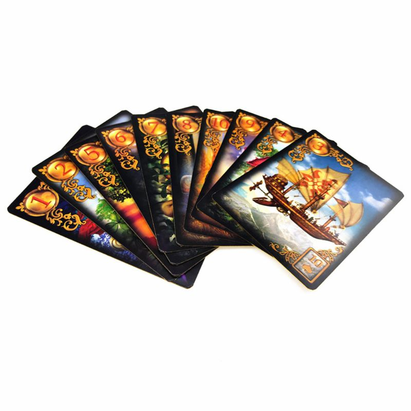 Gilded Reverie Lenormand Seer Card Full English 47 Tarot Cards Mysterious Fortune Divination Fate Party Board Game NEW