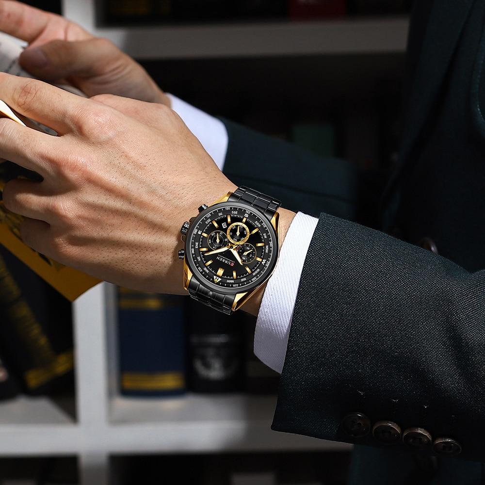 Curren 8399 Men's Watches