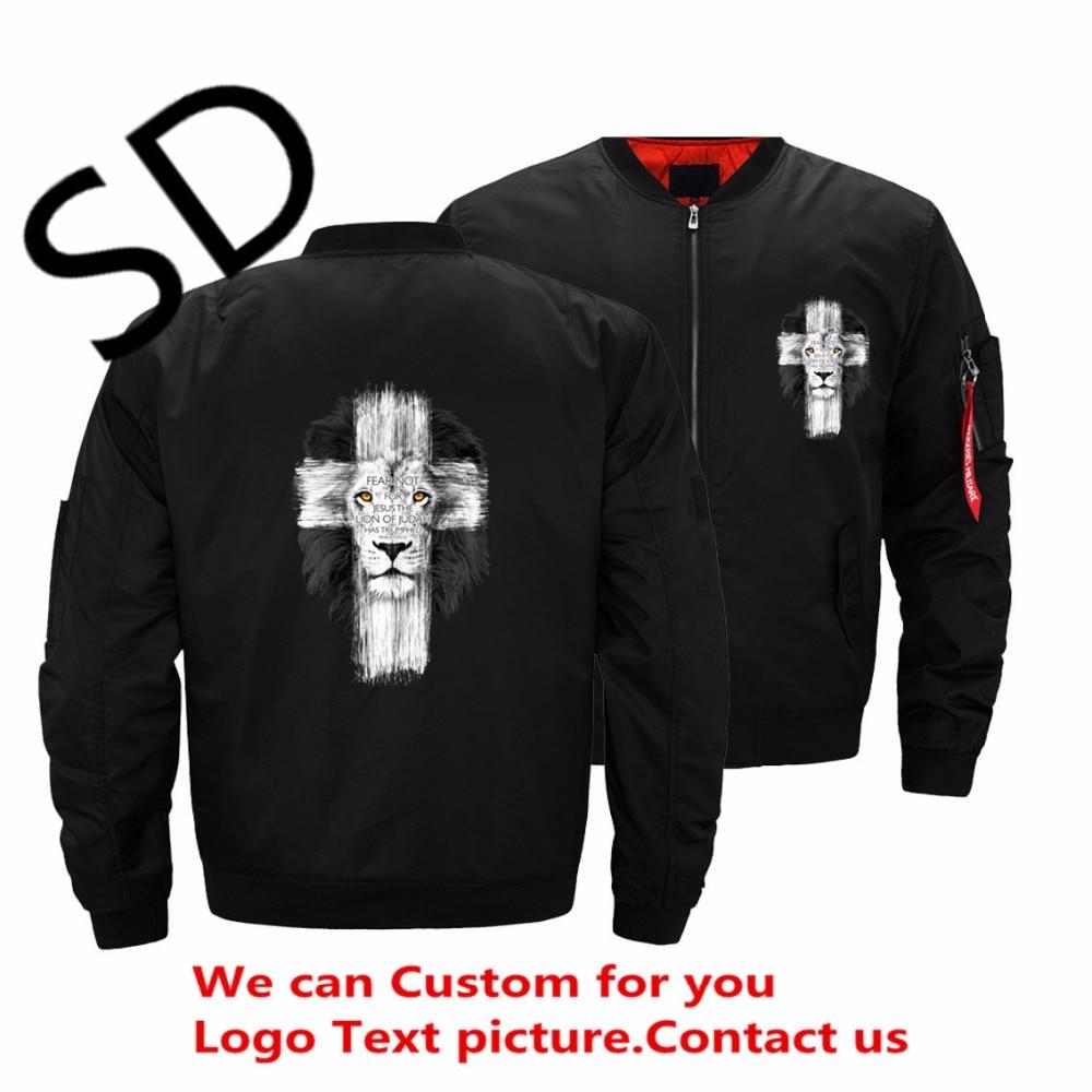 Dropshipping eua tamanho novo masculino jesus kerusso cruz jaqueta homem streetwear bombardeiro jaquetas e casaco veste homme personalizado topo 5xl