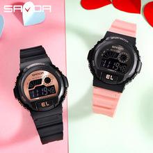 Multifunction Electronic Sport Student Male Female Watch Waterproof Silicone Student Wrist Watches Led Relogios Feminino Clock gogoey relogios feminino ys2073 1982