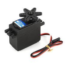 купить JX PDI-4503HB 3.95 kg Steering Digital Plastic Gear Core Servo Torque for RC Car Boat Big Wooden Fixed Wing Drone по цене 460.48 рублей