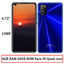 4g ram + 64g rom 7a smartphones globais quad core face id android 6.72
