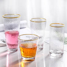Glass water cup tea creative glass juice cold drink whiskey