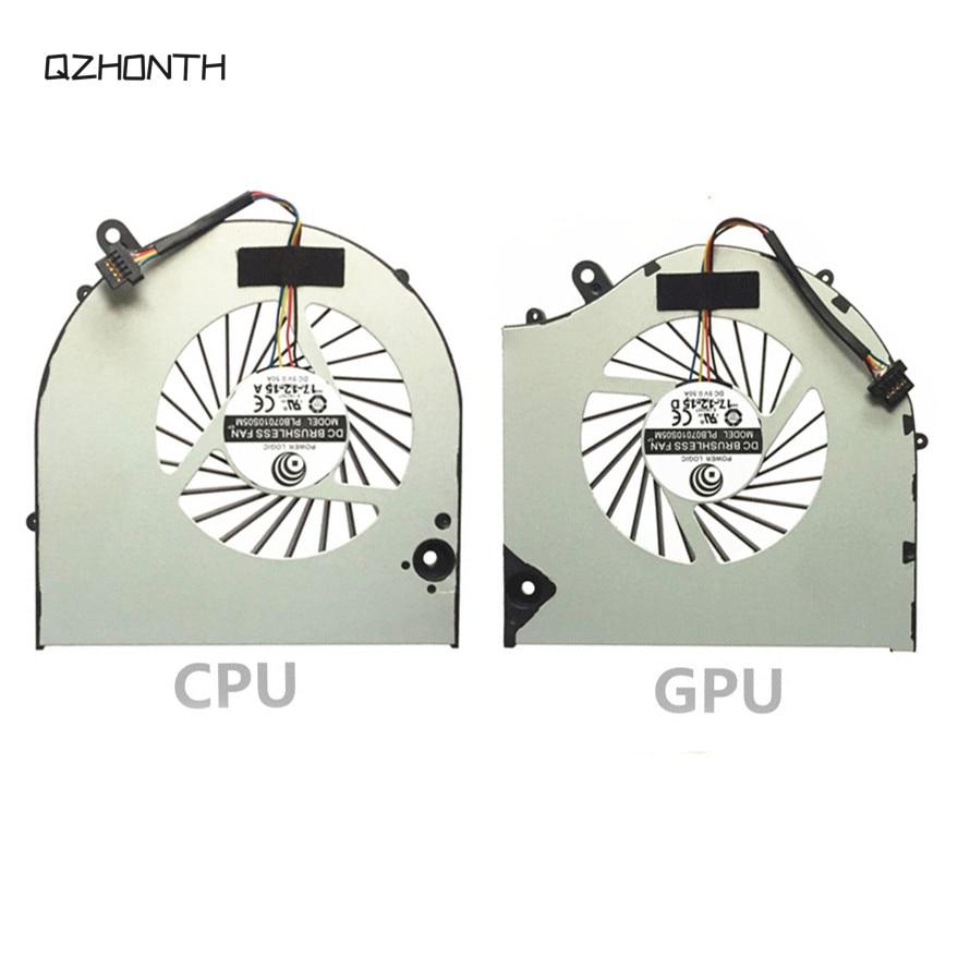 CPU & GPU Cooling Fan for EVGA SC15 Gaming Laptop (1)