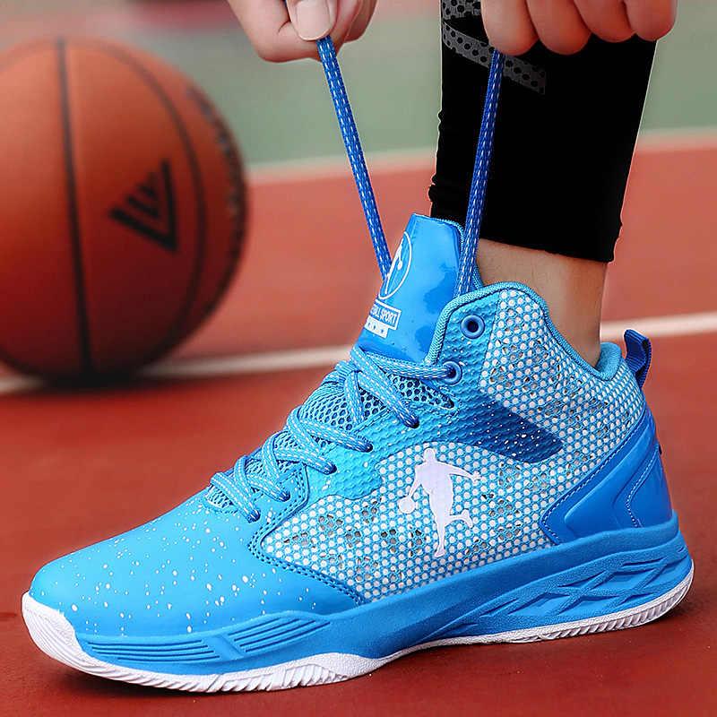2019 جديد الرجال حذاء كرة السلة الهواء الأزرق الأحمر رياضية رياضة الرياضة التمهيد المرأة سلة الكرة الأحذية أوم تنيس Masculino Feminino
