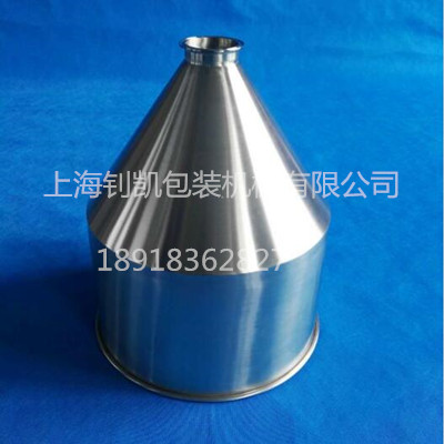 Semi-automatic Filling Machine Accessories Stainless Steel Hopper
