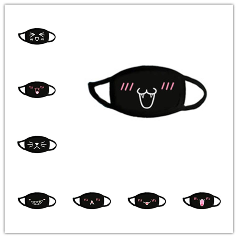 Hot Unisex Mouth Cotton Dustproof Mouth Cosplay Mask Anime Cartoon Women Men Muffle Face Mouth Masks Gag New