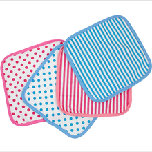Newborn Gauze Small Square Cotton Super Soft Face Towel Baby Bibs Towel With Round Pot Baby Cleaning Supplies