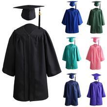 Выпускной костюм изысканный значительный гладкий детский школа выпускной костюм для подарка